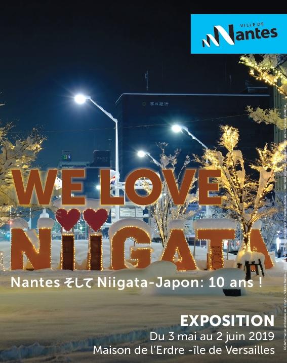 Flyer We love Niigata