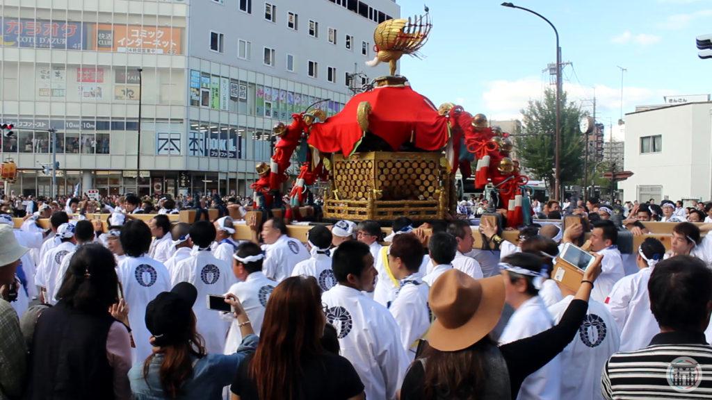 Parade du Mikoshi